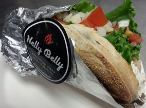 Chicken Salad Piadina from Nelly Belly