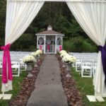 Outdoor Venue gazebo ceremony