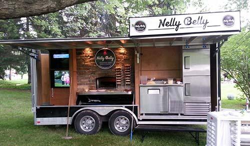 Fresh Wood Fired Pizza Food Truck